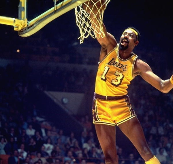Los Angeles Lakers Wilt Chamberlain, 1973 Finals